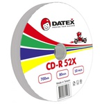 Диск CD DATEX 700MB 52X Bulk 10 pcs (5953821)