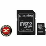 Карта памяти 16Gb microSDHC class 4 Kingston (SDC4/16GB)