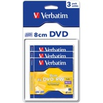 Диск DVD Verbatim mini 1.4Gb 4X Blister 3шт (43594)