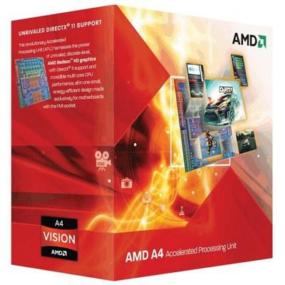 Процессор AMD A4-5300 X2 (AD5300OKHJBOX)